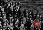 Image of burial Pacific Ocean, 1944, second 2 stock footage video 65675071812