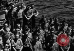 Image of burial Pacific Ocean, 1944, second 3 stock footage video 65675071812