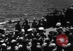 Image of burial Pacific Ocean, 1944, second 6 stock footage video 65675071812