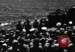 Image of burial Pacific Ocean, 1944, second 7 stock footage video 65675071812