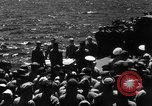 Image of burial Pacific Ocean, 1944, second 9 stock footage video 65675071812