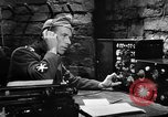 Image of radio transmission security Hollywood Los Angeles California USA, 1943, second 12 stock footage video 65675071817