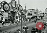 Image of traffic Coney Island New York USA, 1918, second 7 stock footage video 65675071845