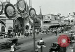 Image of traffic Coney Island New York USA, 1918, second 11 stock footage video 65675071845