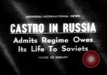 Image of Fidel Castro Moscow Russia Soviet Union, 1963, second 1 stock footage video 65675071885