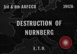 Image of bomb damage Nuremberg Germany, 1945, second 1 stock footage video 65675071920