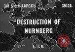 Image of bomb damage Nuremberg Germany, 1945, second 4 stock footage video 65675071920