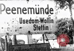 Image of German guided missiles Peenemunde Germany, 1952, second 1 stock footage video 65675071937