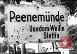 Image of German guided missiles Peenemunde Germany, 1952, second 5 stock footage video 65675071937