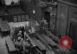 Image of war crimes trials Nuremberg Germany, 1947, second 8 stock footage video 65675071944