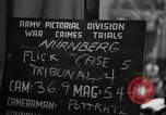 Image of war crimes trials Nuremberg Germany, 1947, second 3 stock footage video 65675071945