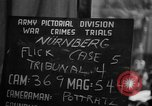 Image of war crimes trials Nuremberg Germany, 1947, second 12 stock footage video 65675071945