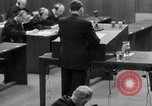 Image of war crimes trials Nuremberg Germany, 1947, second 7 stock footage video 65675071946