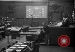 Image of war crimes trials Nuremberg Germany, 1947, second 2 stock footage video 65675071947
