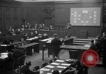 Image of war crimes trials Nuremberg Germany, 1947, second 5 stock footage video 65675071947