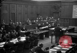 Image of war crimes trials Nuremberg Germany, 1947, second 8 stock footage video 65675071947