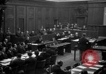 Image of war crimes trials Nuremberg Germany, 1947, second 10 stock footage video 65675071947