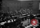 Image of war crimes trials Nuremberg Germany, 1947, second 11 stock footage video 65675071947