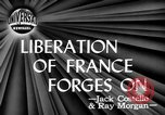Image of independence celebrations France, 1944, second 2 stock footage video 65675071976