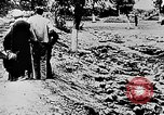 Image of mass burial Ukraine, 1944, second 10 stock footage video 65675071994