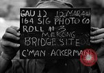 Image of Mekong Bridge Burma, 1944, second 2 stock footage video 65675071997
