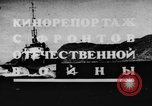 Image of Soviet Navy warships Caspian Sea, 1943, second 2 stock footage video 65675072019