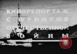 Image of Soviet Navy warships Caspian Sea, 1943, second 3 stock footage video 65675072019