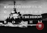 Image of Soviet Navy warships Caspian Sea, 1943, second 5 stock footage video 65675072019
