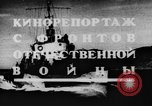 Image of Soviet Navy warships Caspian Sea, 1943, second 6 stock footage video 65675072019