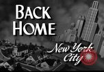 Image of wartime New York United States USA, 1943, second 5 stock footage video 65675072036
