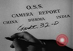 Image of Office of Strategic Services Burma, 1944, second 11 stock footage video 65675072040