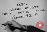 Image of Office of Strategic Services Burma, 1944, second 12 stock footage video 65675072040
