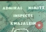 Image of Admiral Chester Nimitz Kwajalein Island Marshall Islands, 1944, second 1 stock footage video 65675072045