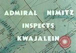 Image of Admiral Chester Nimitz Kwajalein Island Marshall Islands, 1944, second 4 stock footage video 65675072045