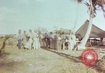 Image of Chester William Nimitz Kwajalein Island Marshall Islands, 1944, second 5 stock footage video 65675072046