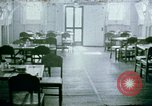 Image of Alien internment center dining facility Crystal City Texas USA, 1943, second 1 stock footage video 65675072068