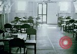 Image of Alien internment center dining facility Crystal City Texas USA, 1943, second 2 stock footage video 65675072068