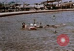 Image of Alien internment swimming pool during World War 2 Crystal City Texas USA, 1943, second 12 stock footage video 65675072074