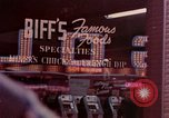 Image of neon signs United States USA, 1958, second 7 stock footage video 65675072076