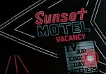 Image of neon signs United States USA, 1958, second 7 stock footage video 65675072082