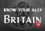 Image of alliance United Kingdom, 1943, second 8 stock footage video 65675072087