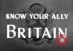 Image of alliance United Kingdom, 1943, second 9 stock footage video 65675072087