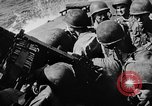 Image of United States Navy Task Force 58 in World War 2 Okinawa Ryukyu Islands, 1945, second 11 stock footage video 65675072095
