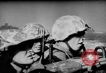 Image of United States Navy Task Force 58 in World War 2 Okinawa Ryukyu Islands, 1945, second 12 stock footage video 65675072095
