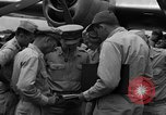 Image of review of mission Saipan Northern Mariana Islands, 1945, second 3 stock footage video 65675072101