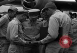 Image of review of mission Saipan Northern Mariana Islands, 1945, second 8 stock footage video 65675072101