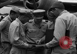 Image of review of mission Saipan Northern Mariana Islands, 1945, second 9 stock footage video 65675072101