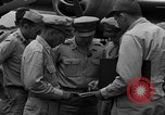 Image of review of mission Saipan Northern Mariana Islands, 1945, second 12 stock footage video 65675072101