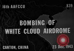 Image of White Cloud airdrome Canton China, 1943, second 1 stock footage video 65675072106
