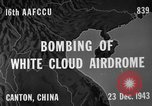 Image of White Cloud airdrome Canton China, 1943, second 5 stock footage video 65675072106